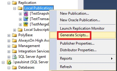 General Admin – All about SQL Replication…